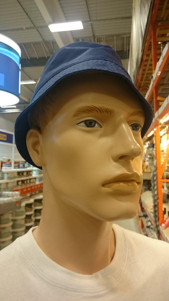 Ansikt, dukke med hatt